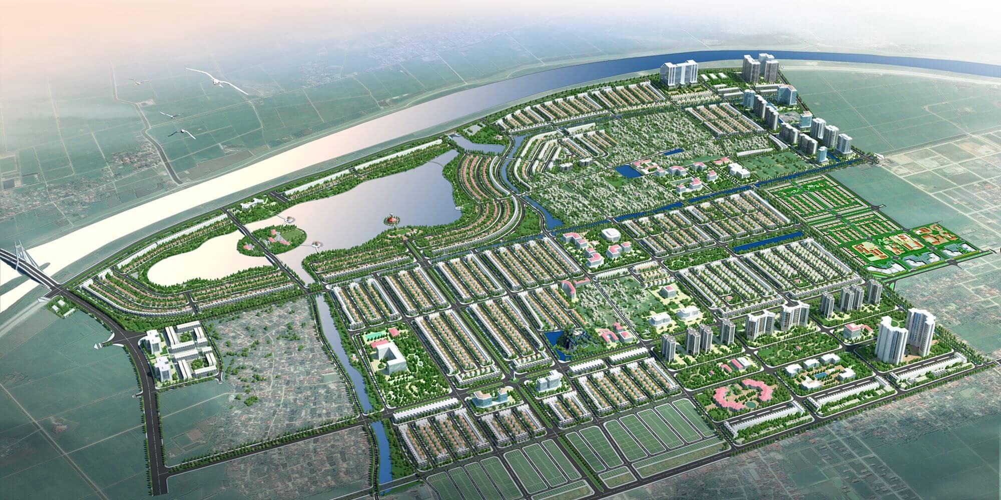 QHCT Khu Đô thị Trung tâm phía Bắc thành phố Ninh Bình