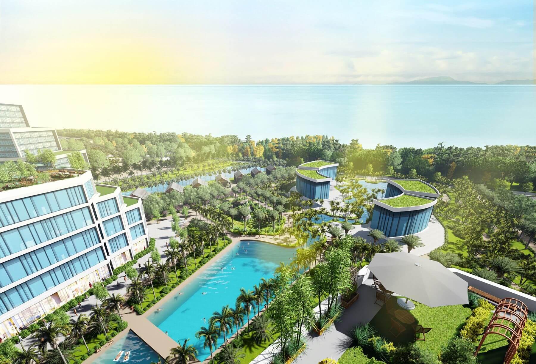2019 QHCT tổ hợp du lịch nghỉ dưỡng, vui chơi giải trí và đô thị biển Gio Linh (Giai đoạn 1) tại huyện Gio Linh, Quảng Trị
