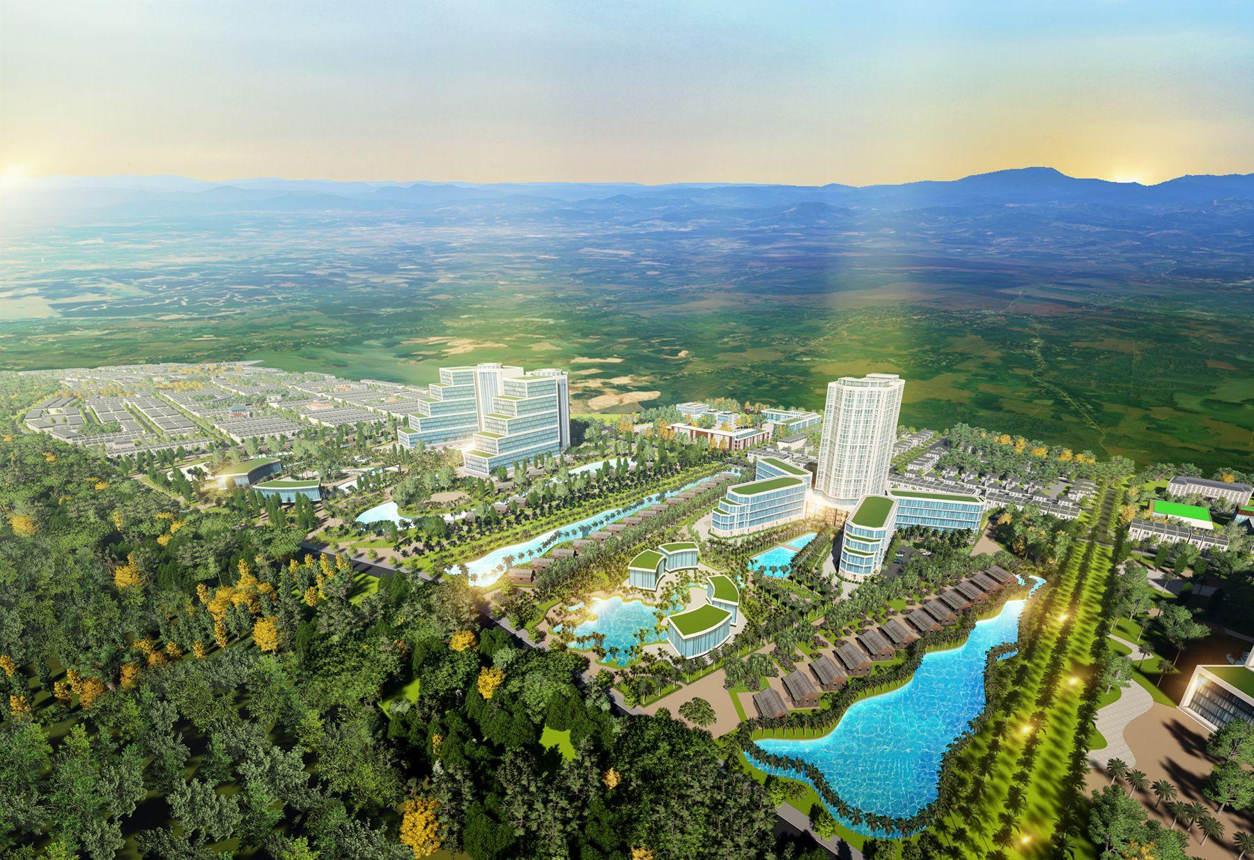 QHCT tổ hợp du lịch nghỉ dưỡng, vui chơi giải trí và đô thị biển Gio Linh (Giai đoạn 1) tại huyện Gio Linh, Quảng Trị